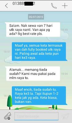 SMS Tawau Car Rental