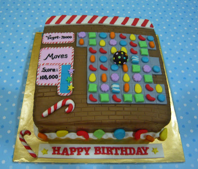 Candy Crush Cake