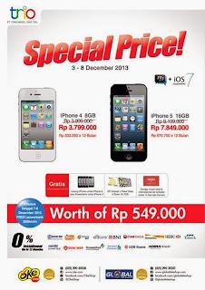 Harga Spesial iPhone 4 dan iPhone 5
