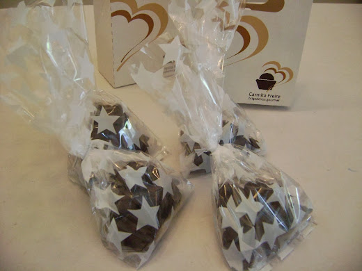 pipocas  banhadas em chocolate