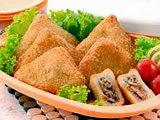 Roti Goreng Opor Ayam
