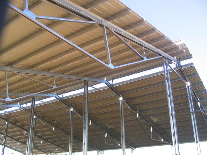 Fotos de uniones desmontables estructuras perfil acero - Fotos de construcciones metalicas ...