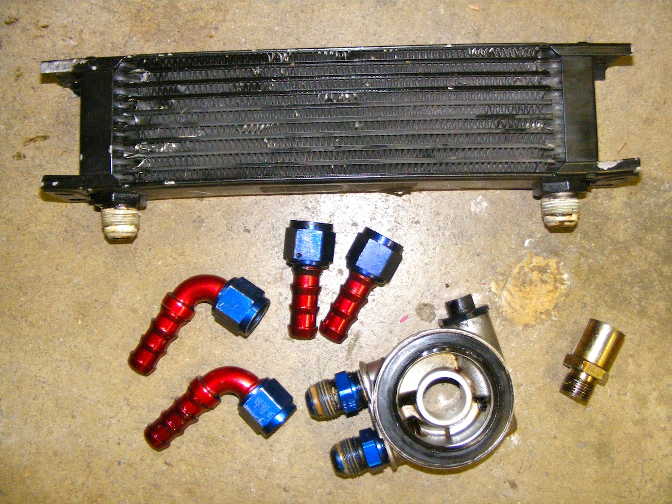 Installing An External Oil Cooler Vw Mkii Golf Gl Project Mk3 Central Locking Wiring Diagram
