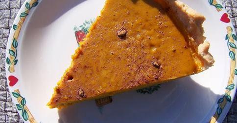Organic Gluten Free Pumpkin Pie