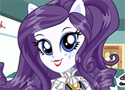 Equestria Girls Rarity School Spirit Style