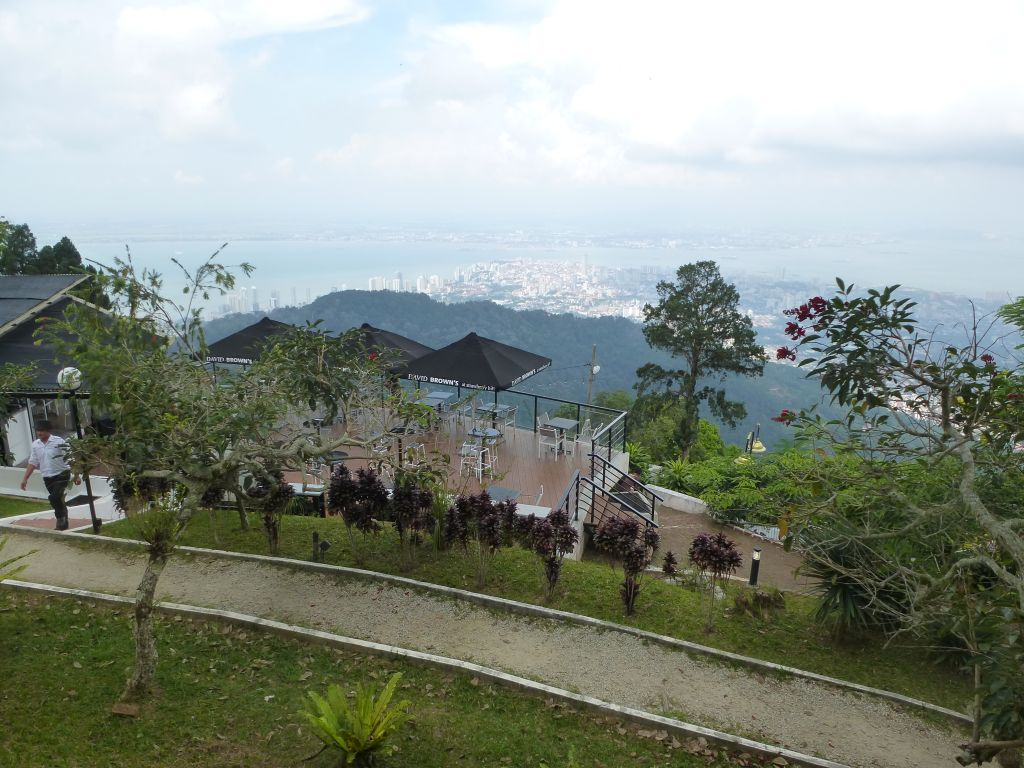 Singapore walking routes climbing penang hill bukit bendera for Terrace 9 penang