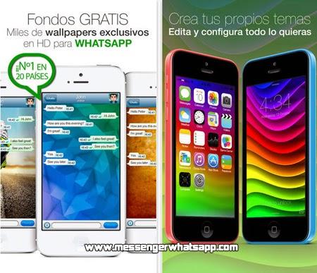 Fondos de Pantalla para WhatsApp en tu iPhone gratis