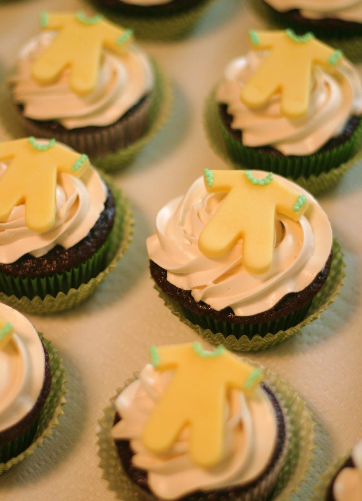 Pink Little Cake: Gender Neutral Baby Shower Cupcakes