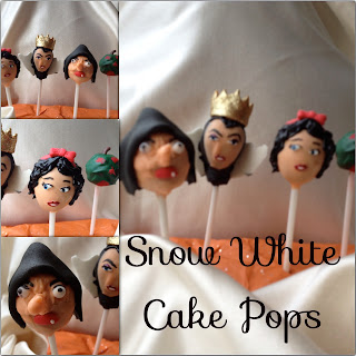 snow white cake pops