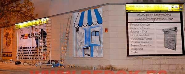 Graffitis para persianas