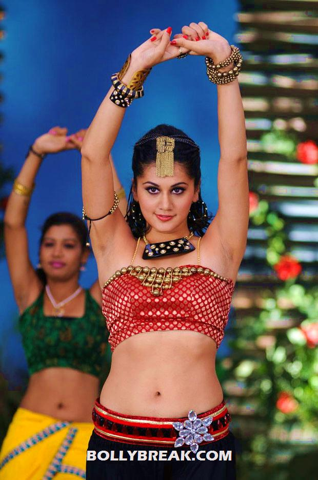- Tapsee Latest Navel Pics - Hot Dancing Stills