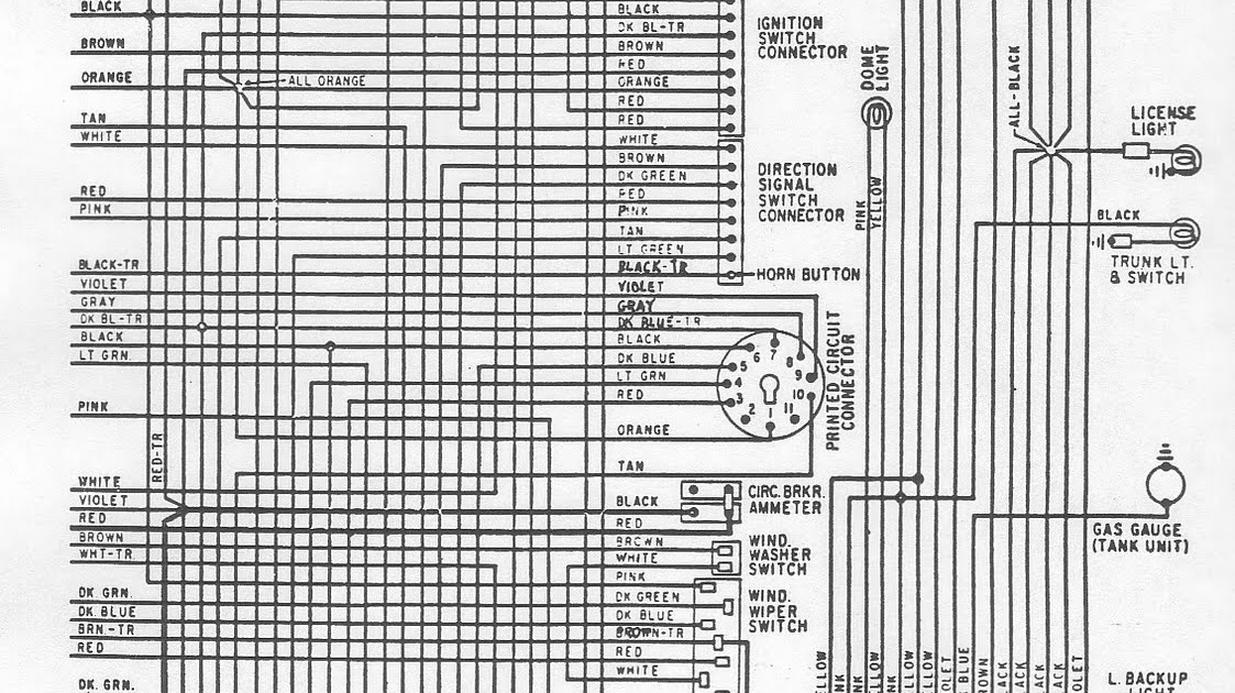 Free Auto Wiring Diagram  1970 Plymouth Belvedere Gtx  Road Runner  And Satellite Rear Side