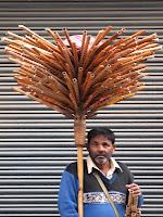 Flute salesman - Thamel, Kathmandu