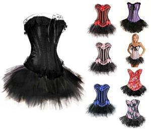 burlesque tutu costume