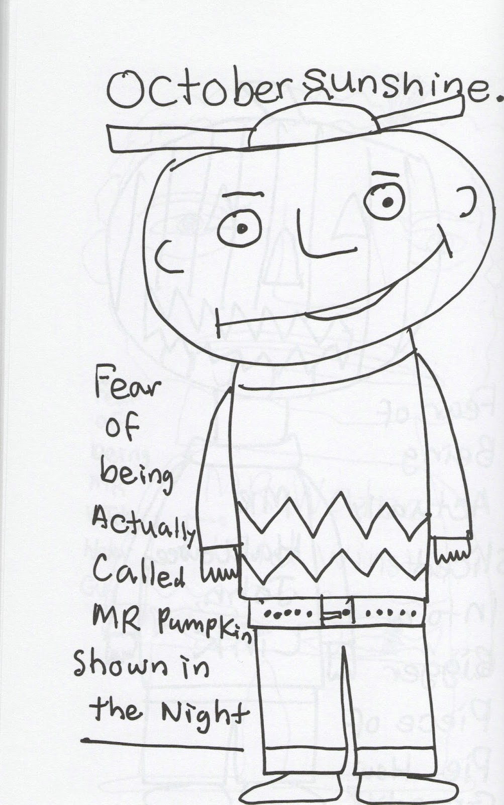 Kitti's Book List: Mr. Pumpkin, Mr. Halloween & Mr. Moundshroud