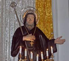 Busto Ligneo di San Francesco di Paola