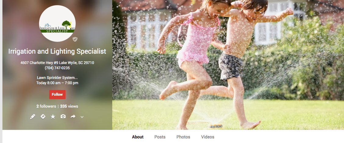 Irrigation and Lighting Specialist is one of the best Charlotte irrigation companies on Google+