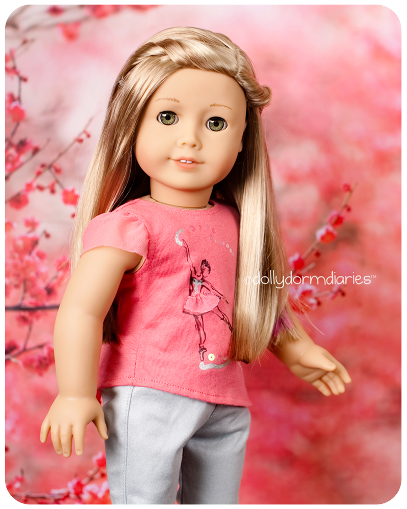 American Girl Doll of the Year, Isabelle. Read 18 inch doll diaries at our American Girl Doll House. Visit our 18 inch dolls dollhouse!