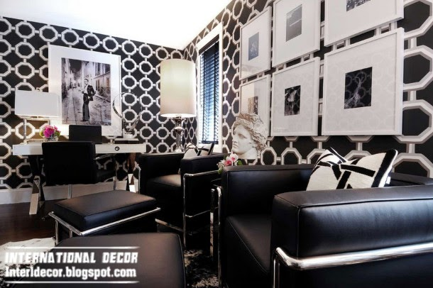 art deco geometric patterns, art deco style in modern interior