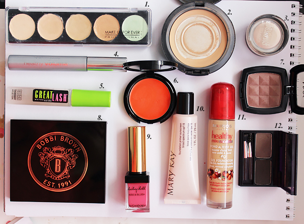 weekend travel makeup bag