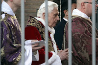 pope served with court papers in molestation case