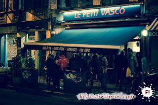 3. Le Petit Vasco, hermano pequeño del Vasco le Gamma, lleno a rebosar por el festival Cultures Bar-bars 2015.