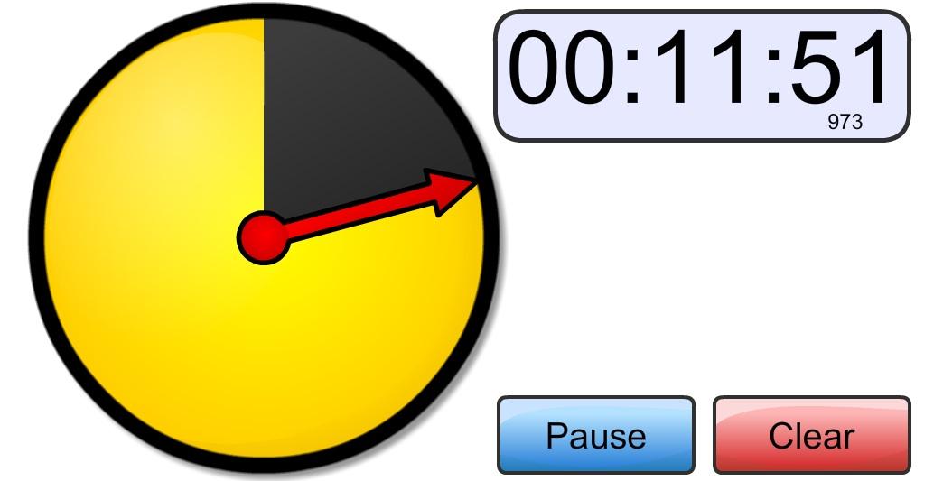 Circle timer online