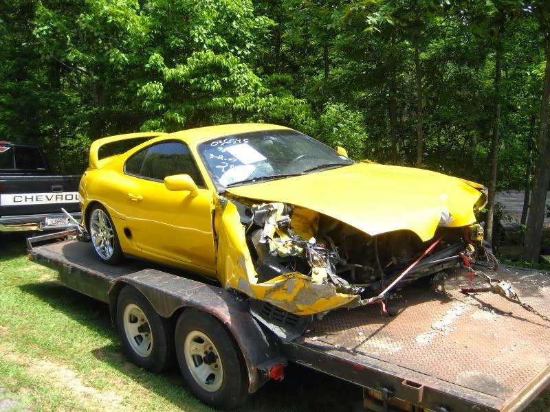 Tune1up Rebirth Yellow Toyota Supra Mk 4 By Keylan Smith