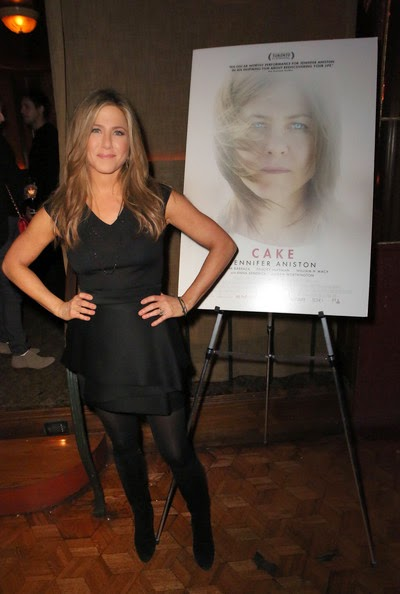 The actress headed the Cake party at Chateau Marmon's Bar on December 5, 2014 at Hollywood, CA, USA.