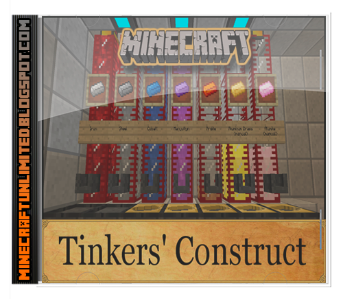 Thinker's Construct Mod Minecraft