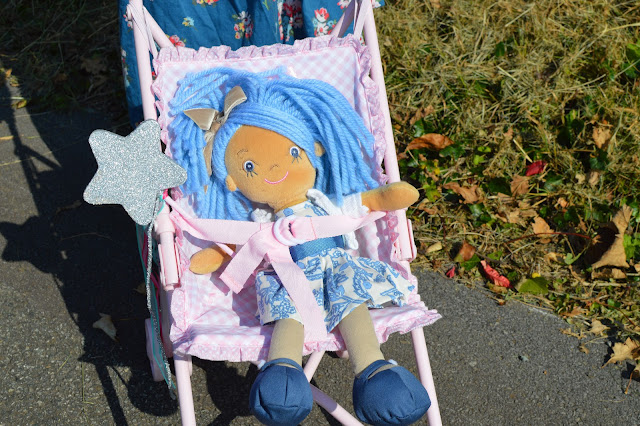 La Nina Kate doll in  Paula Pram pushchair