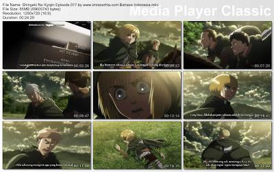 Download Film Shingeki No Kyojin Episode 017 Bahasa Indonesia