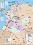 DIBUJOS DEL MAPA DE COLOMBIA (mapa politico de colombia )