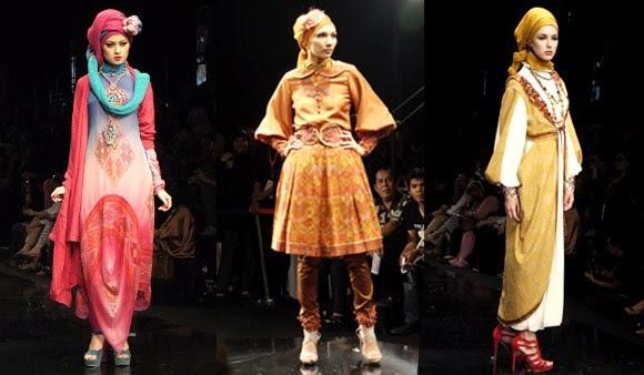 Koleksi baju dian pelangi di acara Fashion Show
