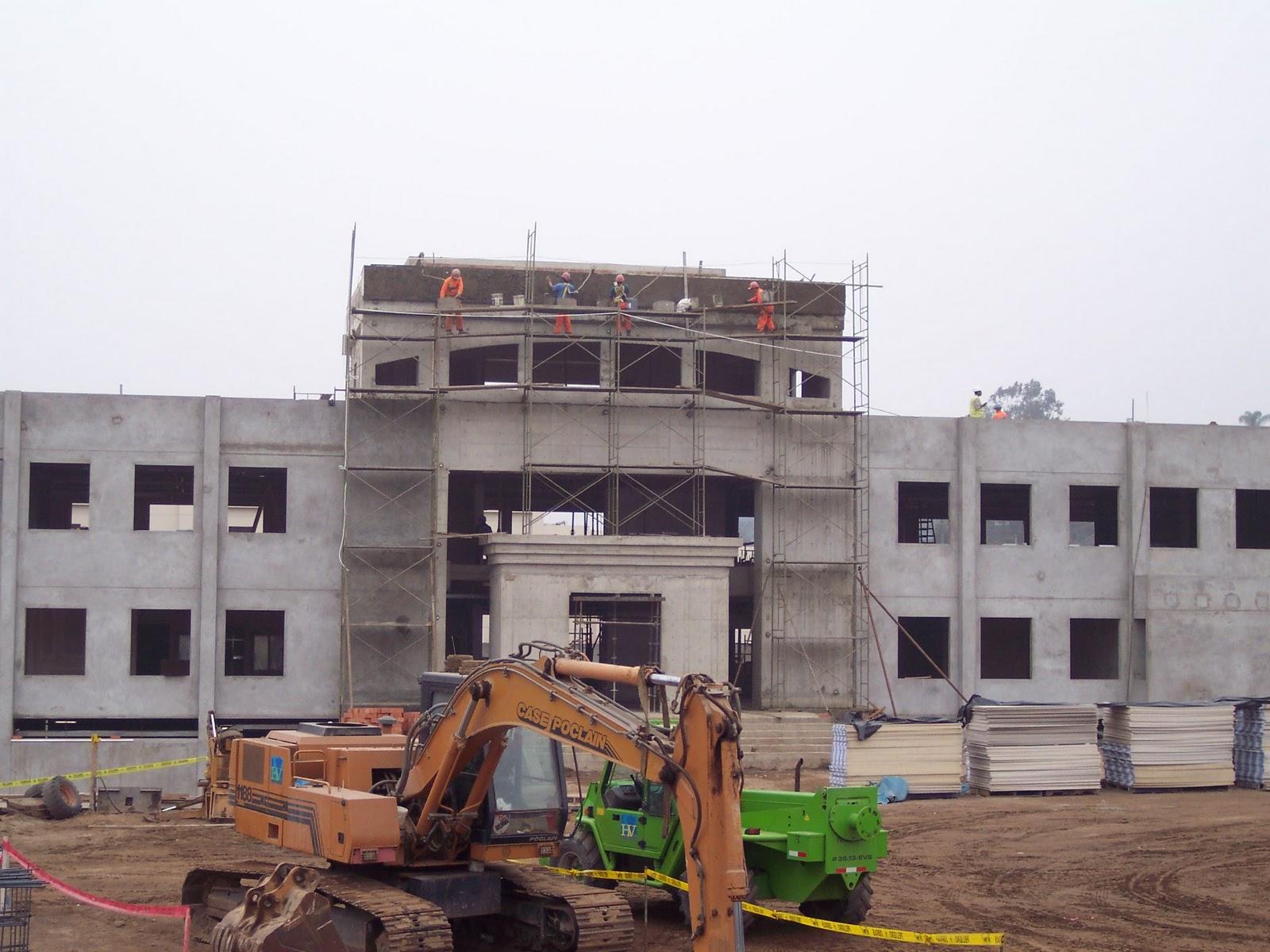 Israel loayza proyecto oficinas administrativas del area for Oficina ing malaga