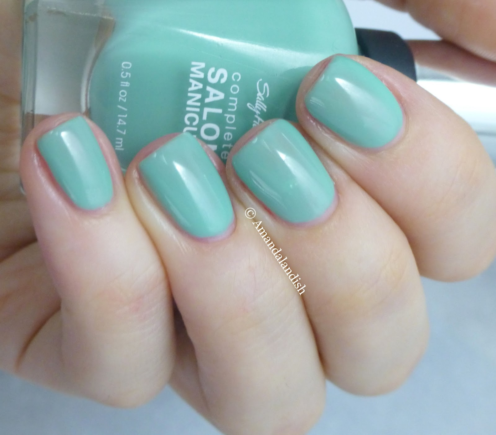 Celebrate Spring with Sally Hansen Complete Salon Manicure Sally Hansen Jaded