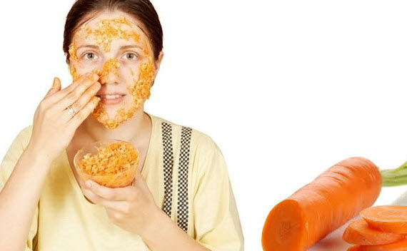 Cách làm đẹp da nhanh chóng bằng Cà Rốt