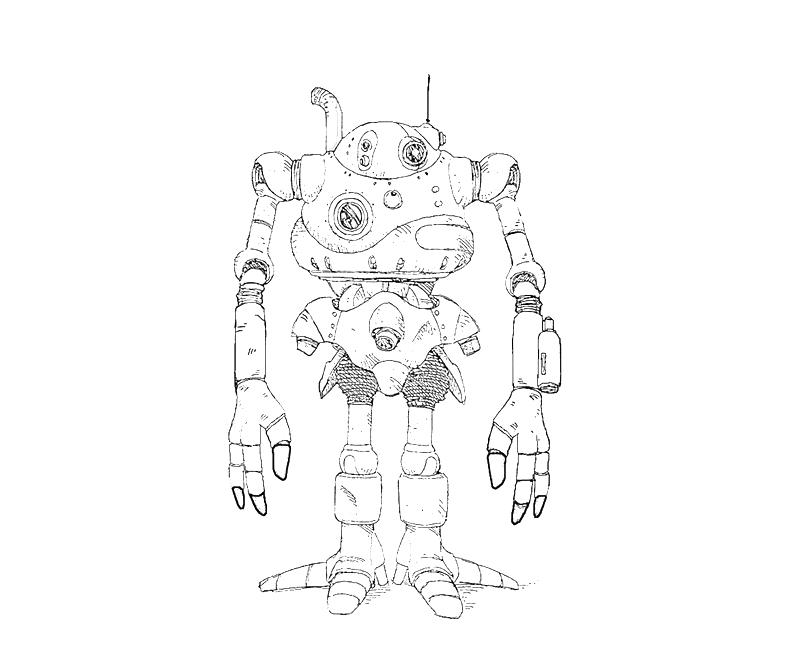 printable-robo-funny-coloring-pages
