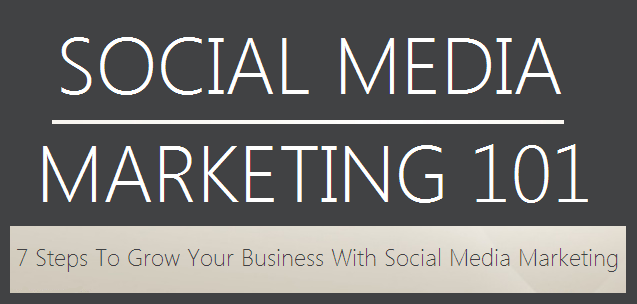 Social Media Marketing 101 : image 7 Steps To Grow Your Business With Social Media Marketing
