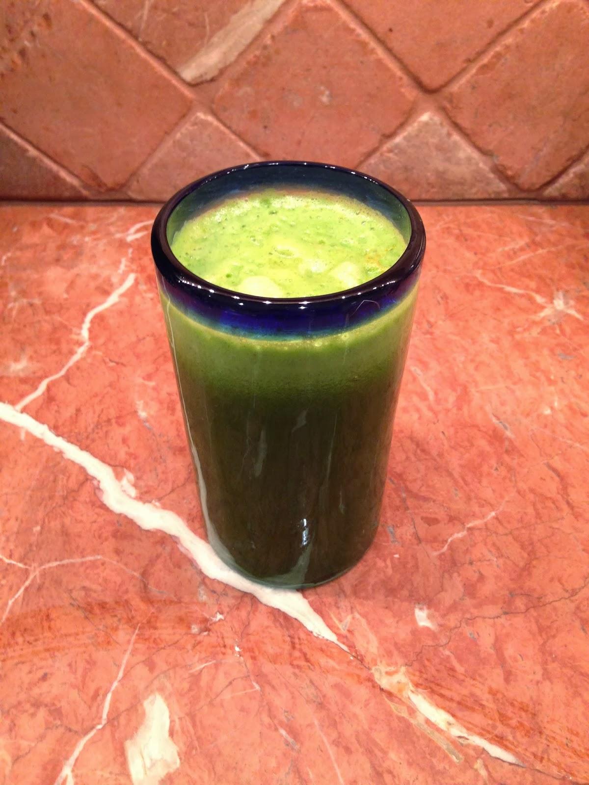 kale, pear, celery juice