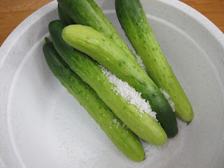 Salty Cucumber Recipe (Dưa Leo Muối) 1