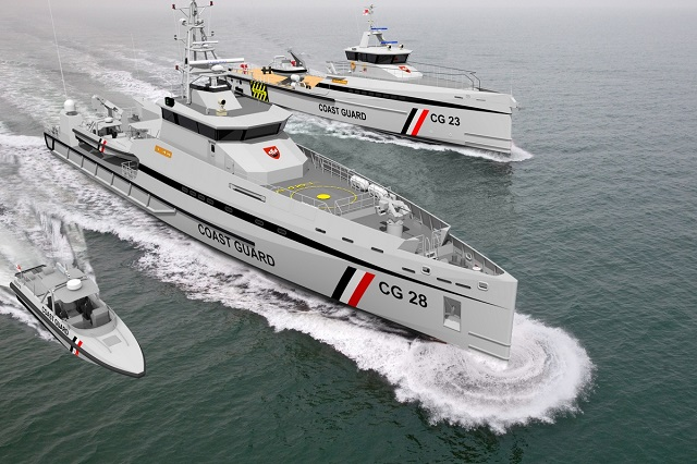 Damen coastal patrol craft