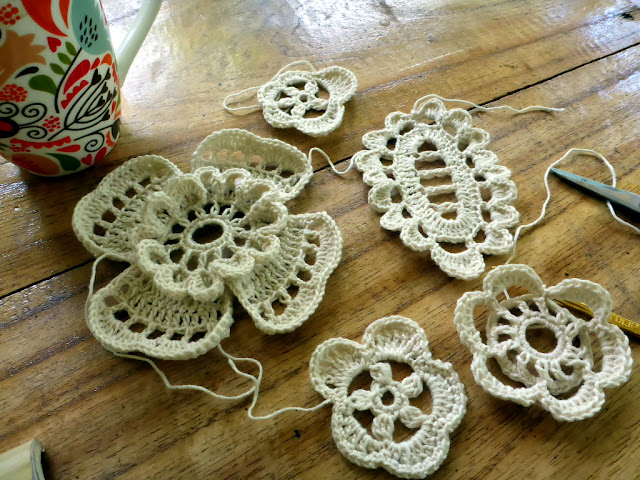 Irish crochet basics for you
