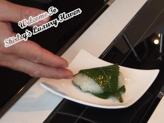 hashi restaurant japanese sakura mochi