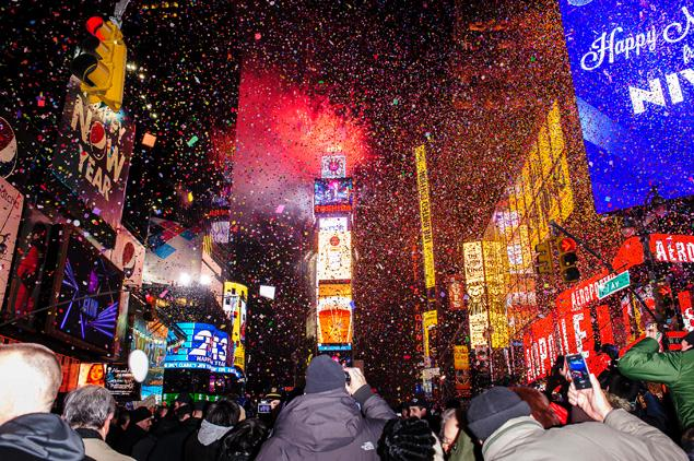 New York Times Square Nye