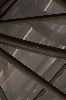Architecture, Melbourne, Victoria, Australia, railway station, southern cross, spencer st, abstract, abstraction, detail, architectural, night, grimshaw, Jackson, Lubetkin, Prize, design, bubble roof, wave, 2006, Collins st, train, photography, tim macauley
