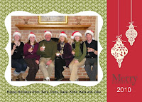Photo Christmas Card made with Stampin'UP!'s My Digital Studio software