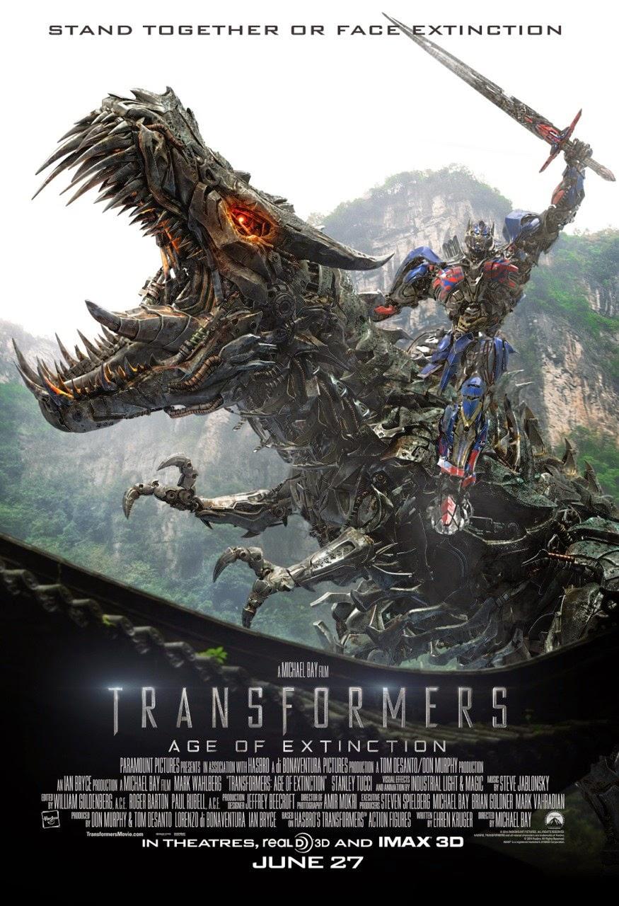 """¡Cartelicos!: Otro de """"Transformers: Age Of Extinction"""""""