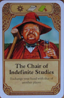 Discworld: Ankh-Morpork - The Chairs of Indefinite Studies Game Card