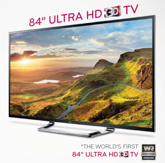 "84 ""Ultra HD 3D TV"